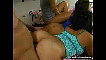 Young Hotties Group Orgy s. Over