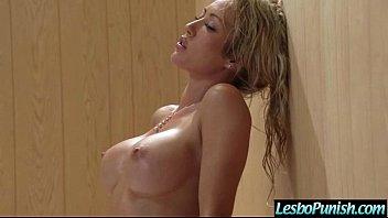 Mean Lesbo (capri & karlie) Punishing Cute Lovely Girl mov-09