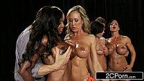 Fitness Contest Orgy - Brandi Love, Diamond Jackson, Kendra Lust, Jewels Jade