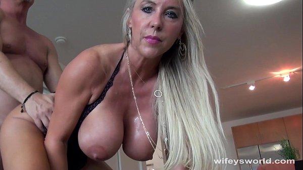 Wifey Swallows A Strangers Cum