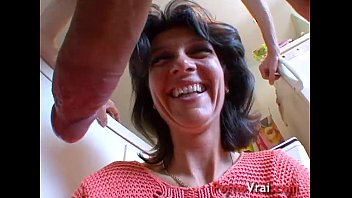 This woman lets us touch her... and fuck her like a slut! French amateur