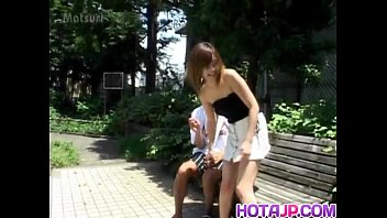 Sayaka Hagiwara has snatch touched outdoor and fucked in house