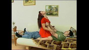 Russian horny mom seduces her son