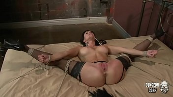 Kendra Lust tied and fucked 1