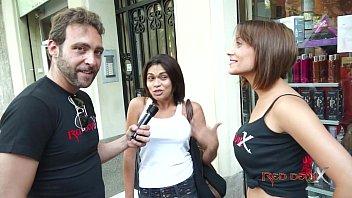 Brunnette threesome casting fuck blowjob - Sandra Red - Mar Durán 39 min