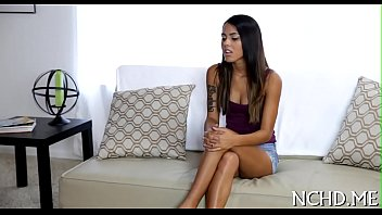 Hawt legal age teenager babe at the casting 5 min