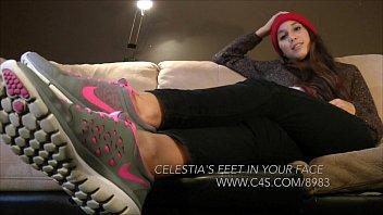 Celestia's Feet in Your Face - www.clips4sale.com/8983/15480856