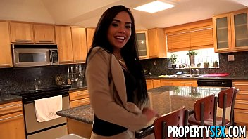 PropertySex - Client finds out hot Latina real estate agent is pornstar