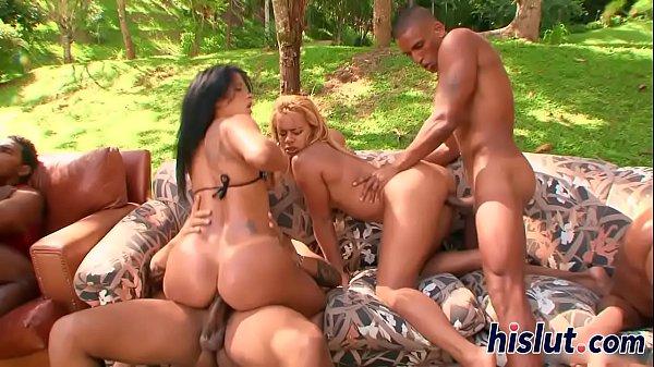 EVASIVE ANGLES Hot Latin Pussy Orgy 37 min