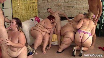 Fat and horny BBWs Amazon Darjeeling, Apple Bomb, Lady Lynn and Sweet Cheeks har 8 min