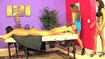 Capri Cavanni Massage Threesome