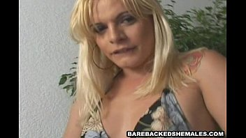 Wild Shemale Gets Fucked Hard