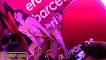 Spanish schoolgirl with big tits loves public sex