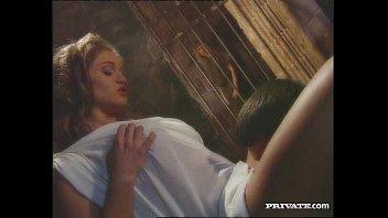 Rita Faltoyano, the Busty Empress Fucks with a Slave