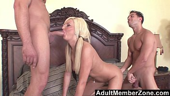 AdultMemberZone - Young Kendra Devons Fucked by 2 Studs