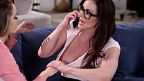 Busty Mommy Kendra Lust and Kimmy Granger  - groupsexhub.com