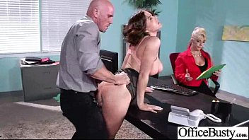 In Office Hard Sex With Big Juggs Horny Worker Girl (krissy lynn) movie-22