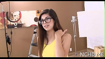 Legal age teenager rides rod at the casting