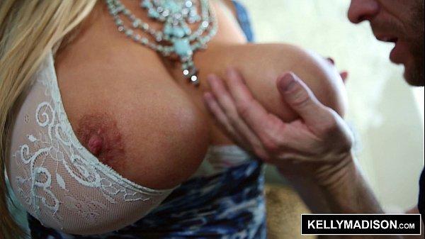 KELLY MADISON - Blue Lingerie Seduces Her Man 12 min