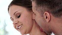 Sensual anal sex with tiny Liza Shay