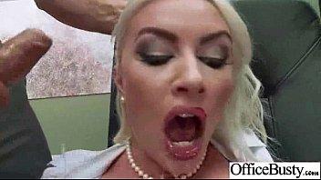 Slut Worker Girl (gigi allens) With Big Melon Tits Banged In Office mov-17