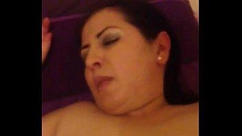 Dumb arab mum sucking and fucking my young fat dick
