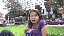 Oyeloca Busty hot latina Yulissa Camacho first time hardcore porn sex