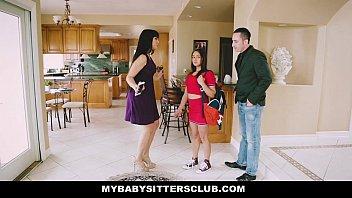 Myb.SittersClub - b. Sitter (Sara Luvv) Gets A Threesome On The Job