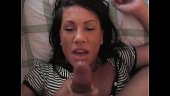 Nasty Amateur Swallows My Load