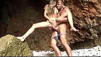 Nacho Vidal anal sex on the beach