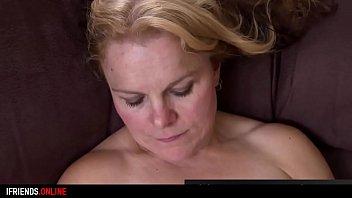 IFRIENDS.ONLINE -  mature lady masturbates with big black