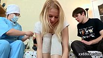 Fella assists with hymen physical and shagging of virgin teenie