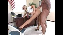 busty blonde student gets a good fucking from her horny prof