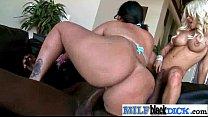 Milf (angelina hellie) In Sex Scene On Interracial Tape On Big Black Cock movie-02