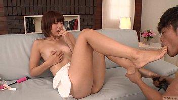Uncensored leggy Japanese Seira Matsuoka stripped for oral