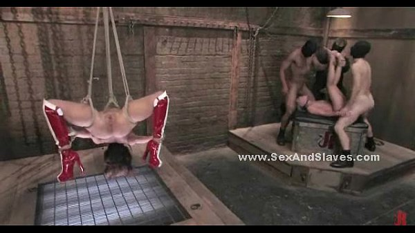 Sex slaves locked and incredibly fucked 4 min