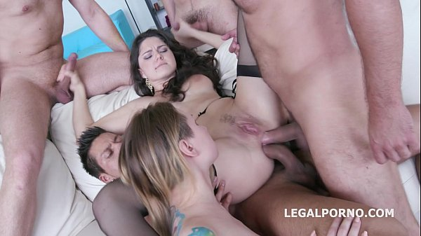 4ON2 Francesca Dicaprio and Christie Star - DAP&GAPES WITH SQUIRT SWALLOW DAP/ TP/ GAPES/ ATM GI