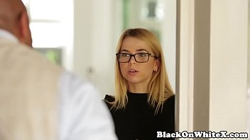 Interracial petite student throating BBC