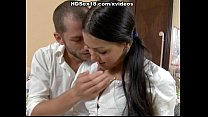 Sexy coed was seduced for anal and pussy sex