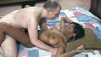 Black hottie Mercy Starr is taking a stiff white cock