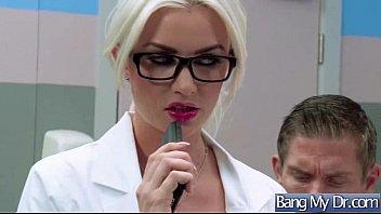 Hard Intercorse Between Doctor And Slut Horny Patient (gigi allens) vid-13