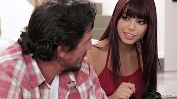 Step daughter makes sextape with her Dad - Gina Valentina and Tommy Gunn