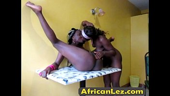 Watch these African Lesbians at the dress up party.cion-al