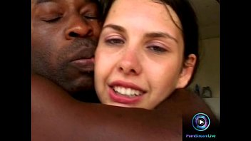 Slender teen Kati very satisfied getting drilled by two BBC