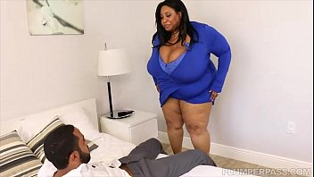 Huge Tit Ebony BBW Cotton Candi Fucks Next Door BBC