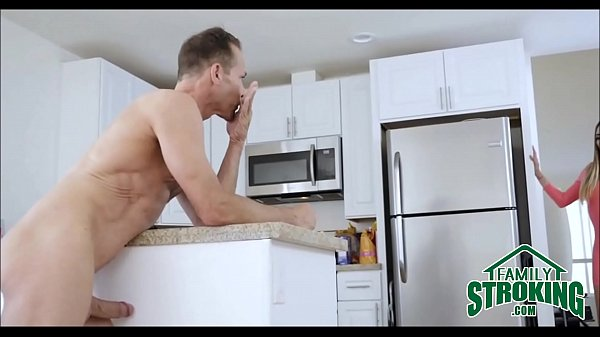 Mom Walks In On Teen Daughter Sucking Step Dad's Cock - FamilyStroking.com