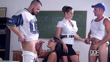 DDF Network Sex Education 5 Nymphos Fucked senseless