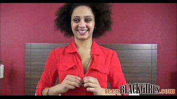 Skinny Black Teen First Porn Casting - TeenBlackGirls.com