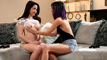 Teenie Eva Sedona and April O'Neil Licking Each Other Out