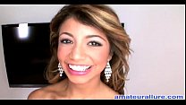 Veronica Rodriguez Goes Deep on a Cock Then Massive Cumshot into Her Mouth